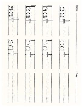 CVC-Phonogram Activity Sheets