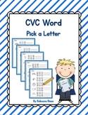CVC Word {Pick a Letter}