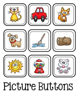 CVC ~ Picture Button Match