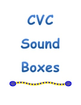CVC Picture Sound Boxes