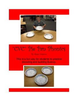 CVC Pie Pan Phonics
