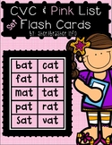CVC & Pink Series Flash Cards - CHUNKY