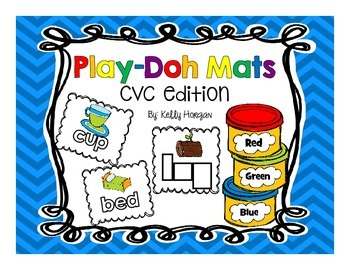 CVC Play Doh Mats