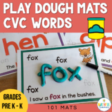 CVC Play Doh Mats Bundle (Play dough)