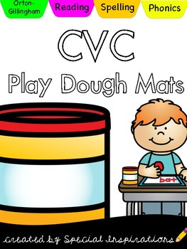 CVC Play Dough Mats
