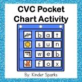 CVC Pocket Chart Activity- Building CVC Words