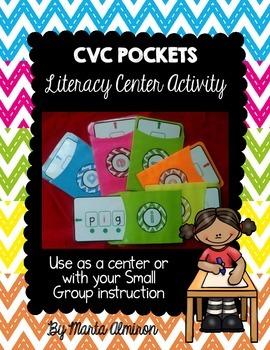 CVC Pockets - Literacy Center