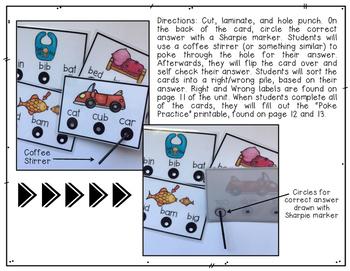 CVC Poke Cards