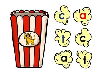 CVC Popcorn Words - Short a