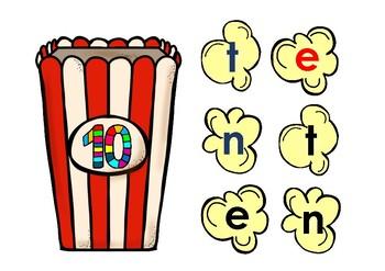 CVC Popcorn Words - Short e