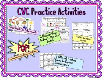 CVC Practice Activities