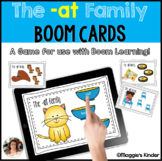 CVC Boom Cards for at Words