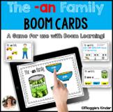 CVC Boom Cards for an Words