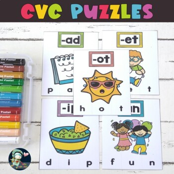 picture regarding Printable Short Vowel Games identify CVC Puzzle Video games, CVC Brief Vowel Printable TeKa Kinderland
