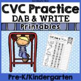 CVC Practice: Dab and Write
