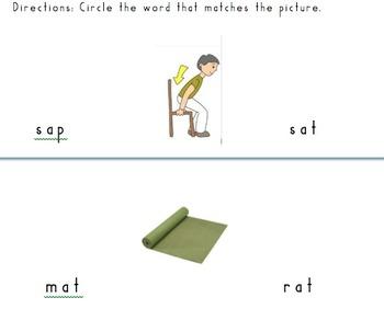 CVC Practice: Short A and Short I