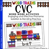 CVC Practice - Word Trains