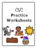 CVC Practice Worksheets