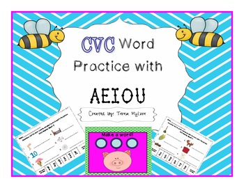 CVC Practice with ALL VOWELS