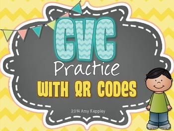 CVC Practice with QR Codes