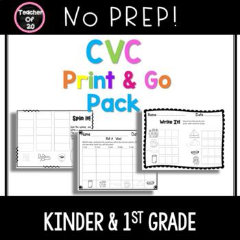 CVC Centers Print n Go Pack