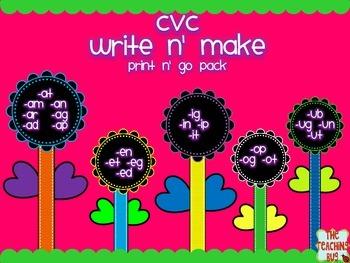 CVC Print n Go pack