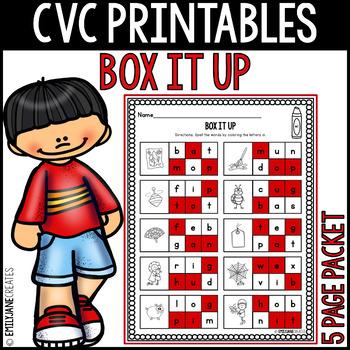 """CVC Printables-BOX IT UP-Part of """"CVC Printables Mega Bundle"""""""