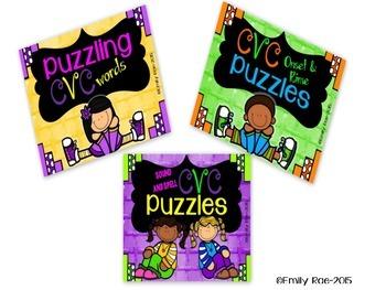 CVC Puzzle BUNDLE