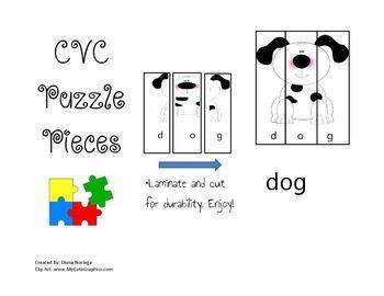 CVC Puzzle Pieces
