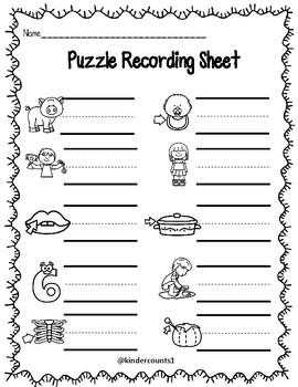 CVC Puzzle- short i