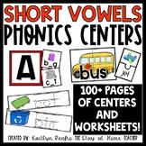 CVC Short Vowels Centers
