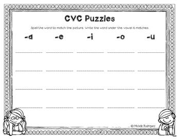 CVC Puzzles