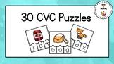 30 CVC Puzzles