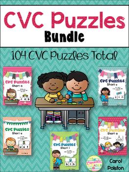 CVC Puzzles **BUNDLE**