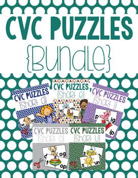 CVC Puzzles {BUNDLE}