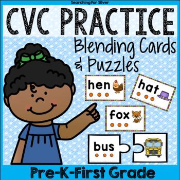 CVC Puzzles & Blending Cards