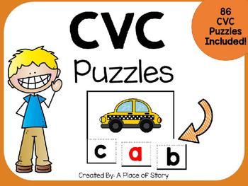 CVC Puzzles (Center Station)