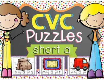 CVC Puzzles - Short A