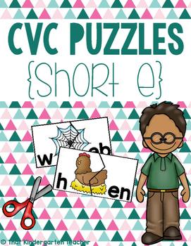 CVC Puzzles {Short E}