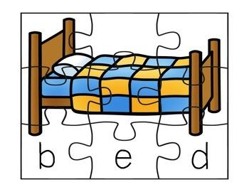 CVC Puzzles - Short E
