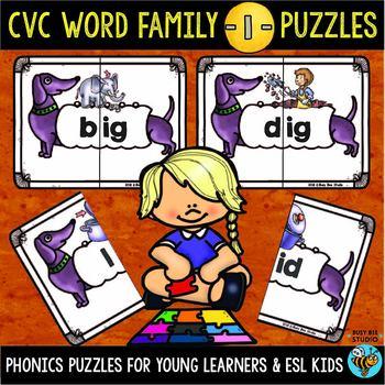 CVC Puzzles (Short -I-)