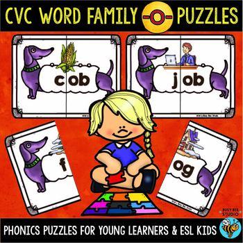 CVC Puzzles (Short -O-)
