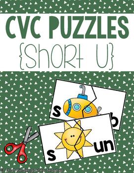 CVC Puzzles {Short U}