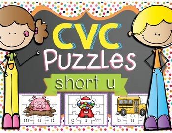 CVC Puzzles - Short U