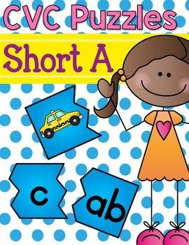 CVC Puzzles {Short a}