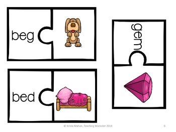 CVC Puzzles--Short e edition