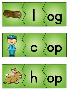 CVC Puzzles {Short o}