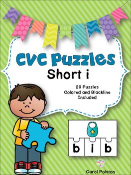 CVC Puzzles Short i
