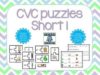 CVC Puzzles--Short i edition