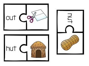 CVC Puzzles--Short u edition